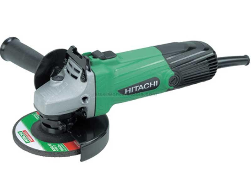 """Hitachi G12STX 4.5"""" (115mm) Angle Grinder 110v"""