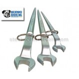 King Dick Set Of Three Open Ended Tethered Podger Spanners 19mm, 24mm & 30mm