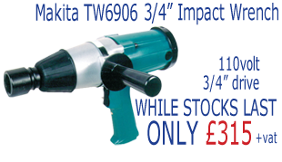 Makita 3/4 Inch Impact Wrench - Only £315 ex VAT